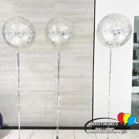 Balloon Bouquet - Confetti Glitter