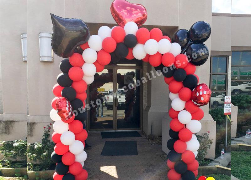 Casino houston balloon decorations