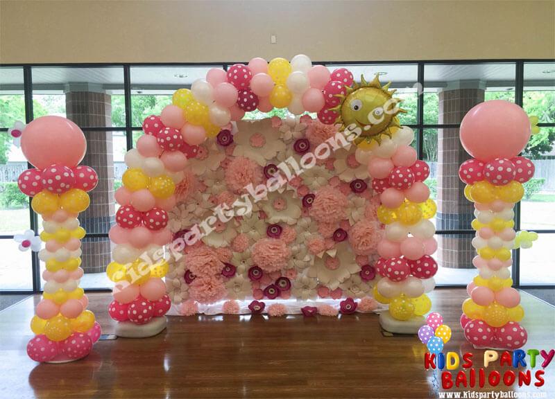 Sunshine Balloon Arch
