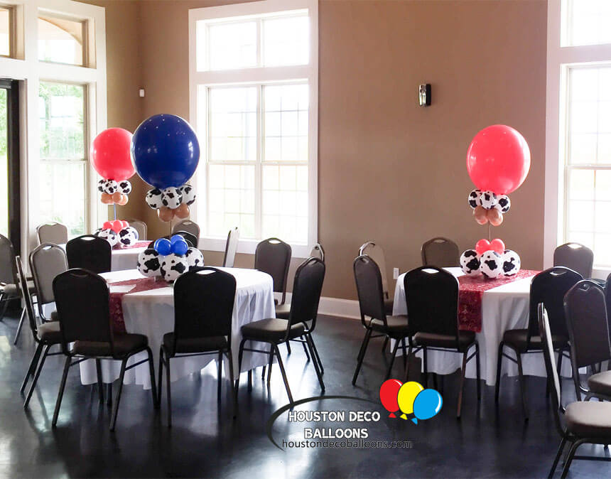 Balloon centerpieces houston tx