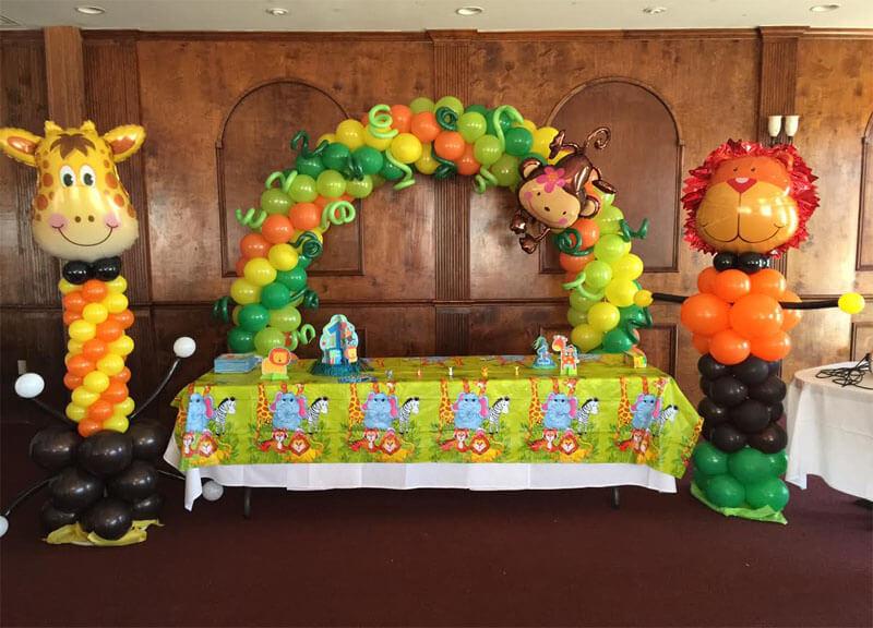 Jungle Safari Balloon Arch