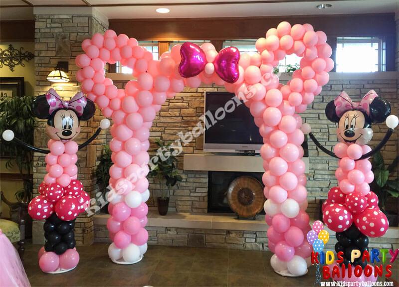 Minnie Mouse Ear Balloon Arch