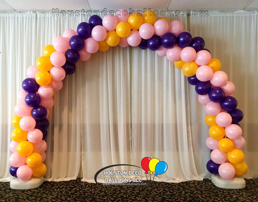 princess   houston balloon decorations
