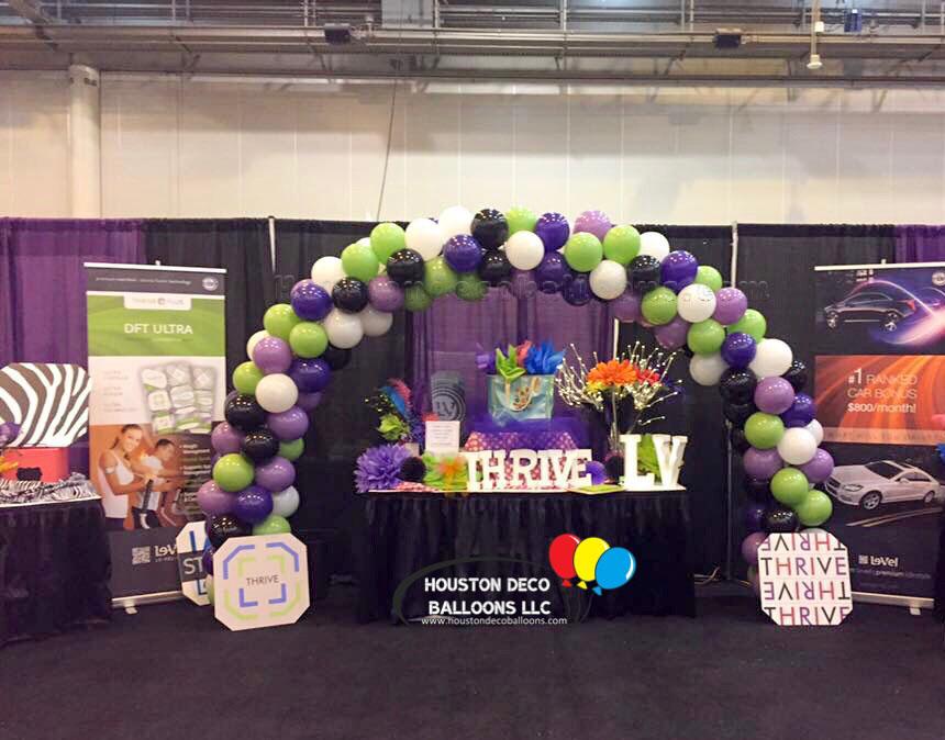 Thrive houston balloon decorations