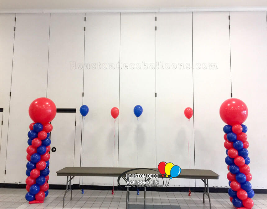 Jumbo Balloon Columns-2