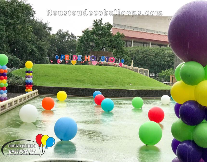 pride houston balloon decor-1