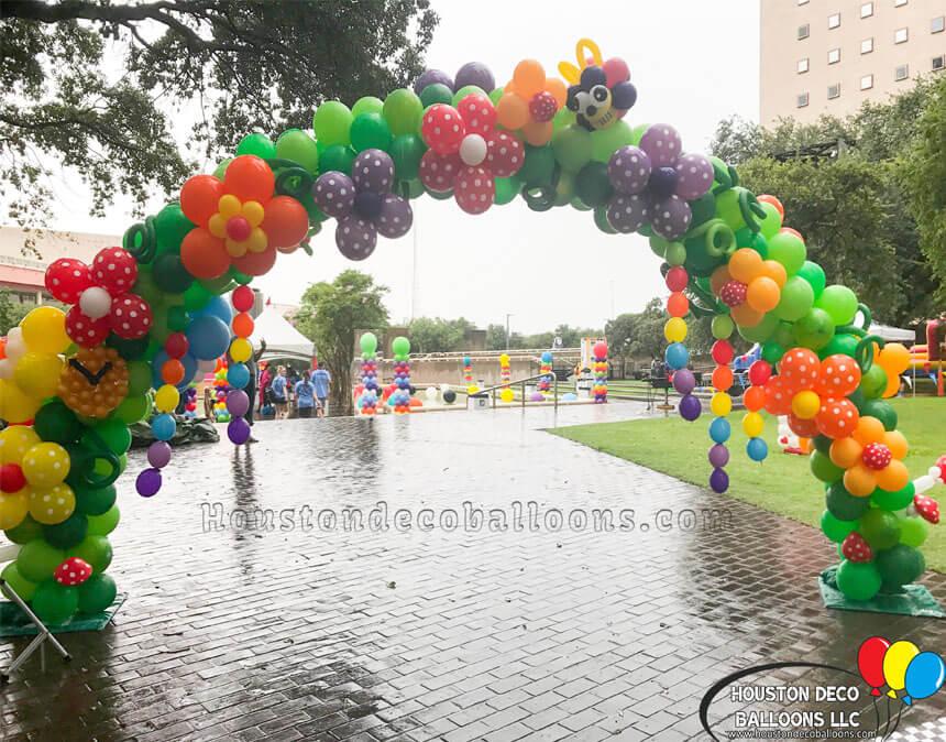 pride houston balloon decor-3