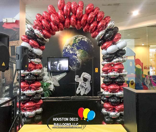 Car dealerships houston balloon decorations