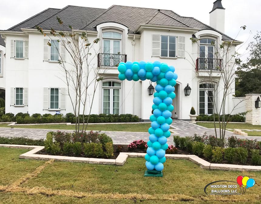 Houston balloon decorations
