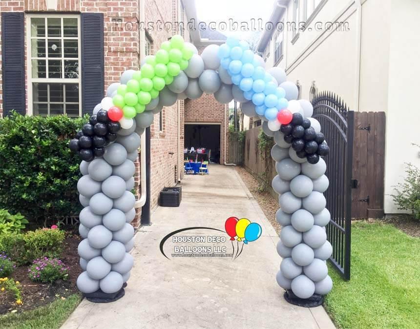 Star Wars Balloon Arch