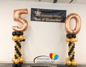 50th celebration columns