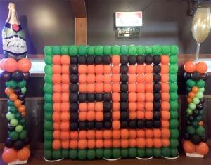 60th celebration Balloons deco