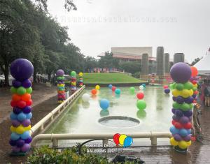 Pride Houston Decorations