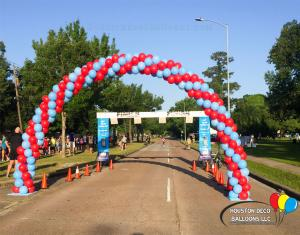 Balloon Arch for 5K run