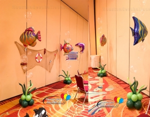 Fish Balloon Bouquets
