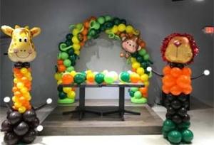 Kids Birthdays Houston Balloon Decorations